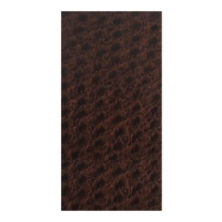 Calvin Fabrics Ostrich Faux Leather - 9 Yards For Sale