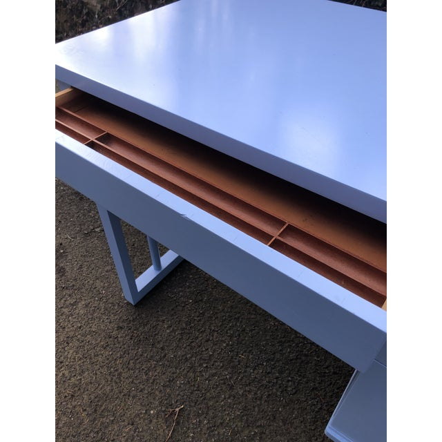 1950s Mid Century Modern Writing Desk For Sale In New York - Image 6 of 7