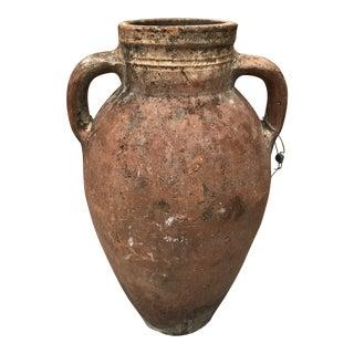 Vintage Rustic Terracotta Urn Jar