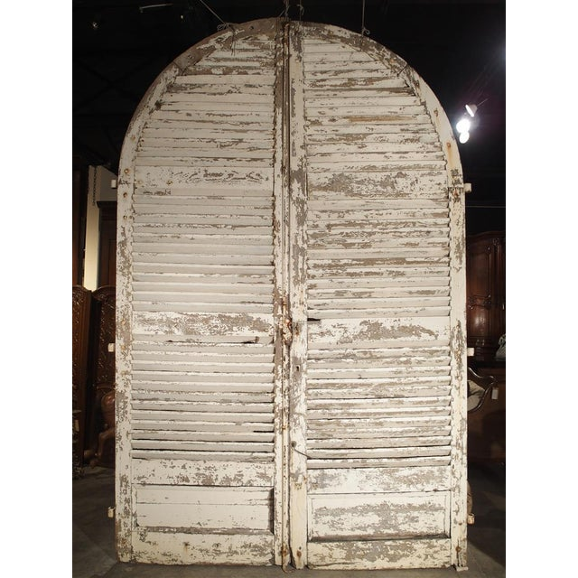 Pair of Large Antique French Door Shutters From a Chateau, 19th Century For Sale - Image 13 of 13