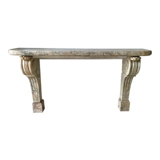 17th Century French Marble Wall Console For Sale