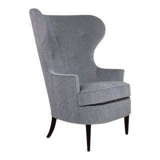 Early Dunbar Wing Chair by Edward Wormley