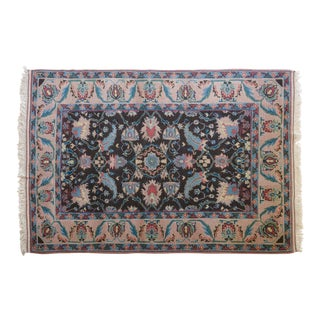 Vintage Esel Turkish Shiravan Rug - 5′6″ × 8′3″