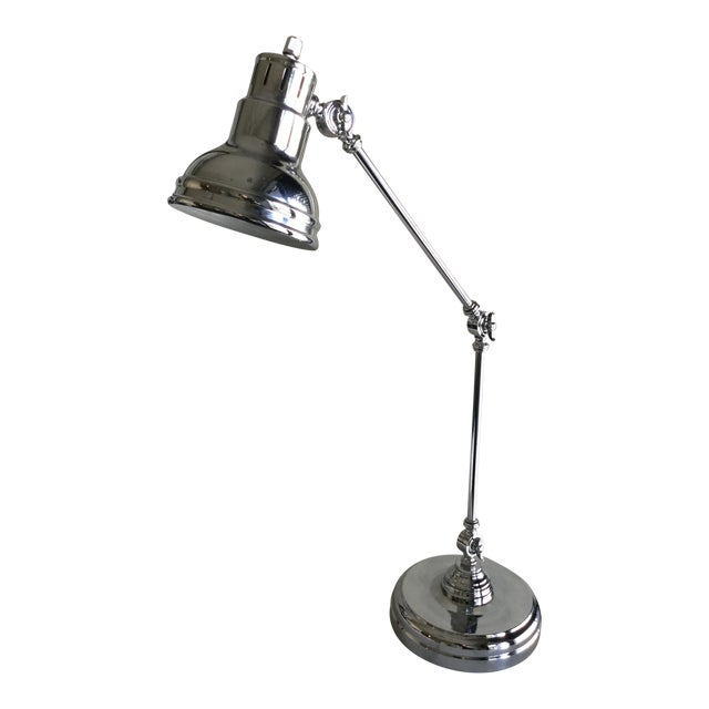 Z Gallerie Charleston Desk Lamp For Sale