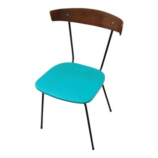 Vintage Clifford Pascoe Mid-Century Modern Bent Wood Side Chair