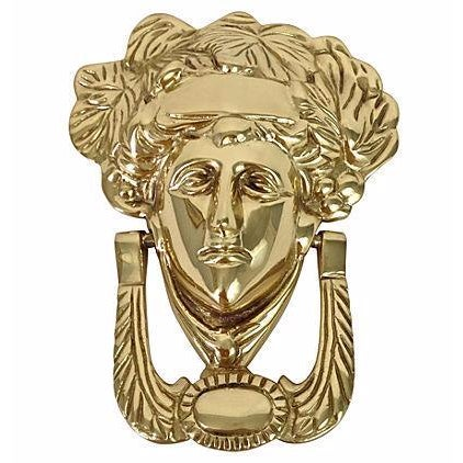 Brass Medusa Door Knocker - Image 1 of 5