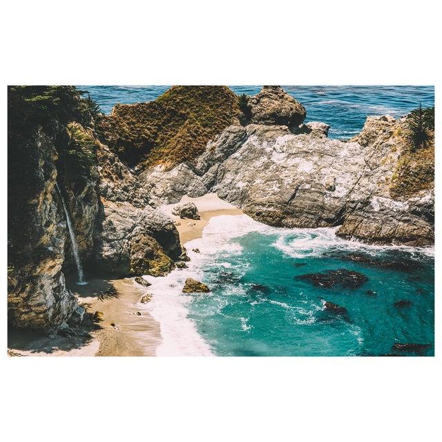 2010s McWay Falls - Big Sur Original Framed 16x20 Photograph For Sale - Image 5 of 6