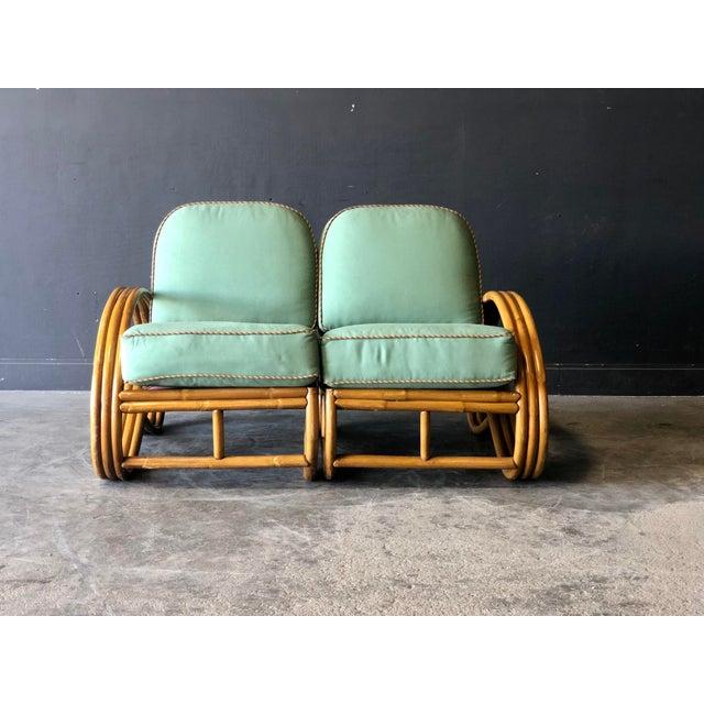 Paul Frankl Pretzel Settee Set For Sale In New York - Image 6 of 13