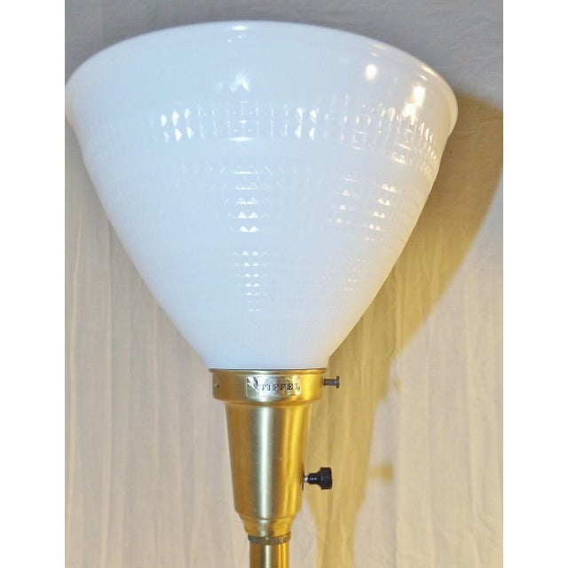 Stiffel Brass & Lenox Porcelain Table Lamp - Image 5 of 9
