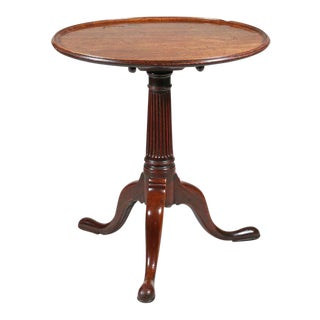 George II Mahogany Tripod Tea Table