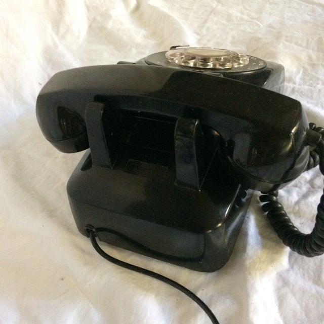 Vintage Black Western Electric Telephone - Image 5 of 11