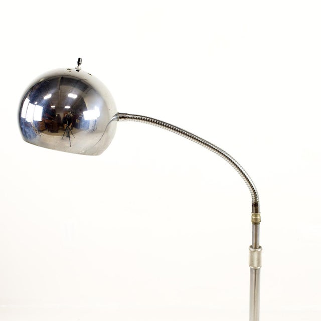 Robert Sonneman Style Mic Stand Floor Lamp 11x11 base and 50 inches tall