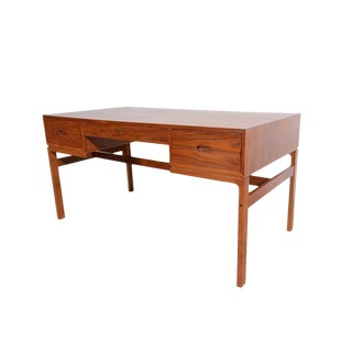 Arne Wahl Iversen for Vinde Mobelfabrik Teak Desk For Sale