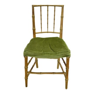 Early 20th Century Antique Bamboo Chair For Sale
