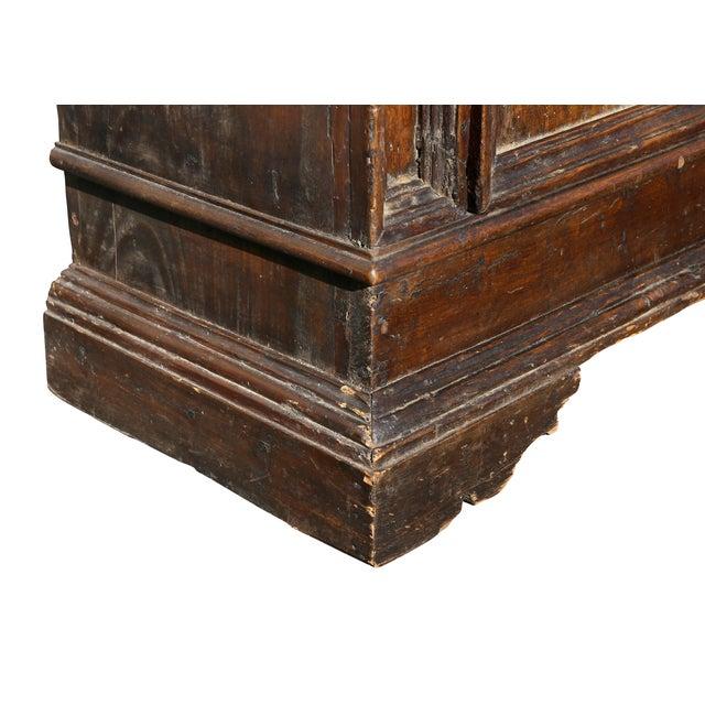 Italian Baroque Walnut Cabinet For Sale - Image 9 of 13