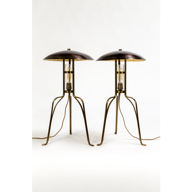 Tuell & Reynolds Bancroft Table Lamps (2 Available) For Sale - Image 10 of 10