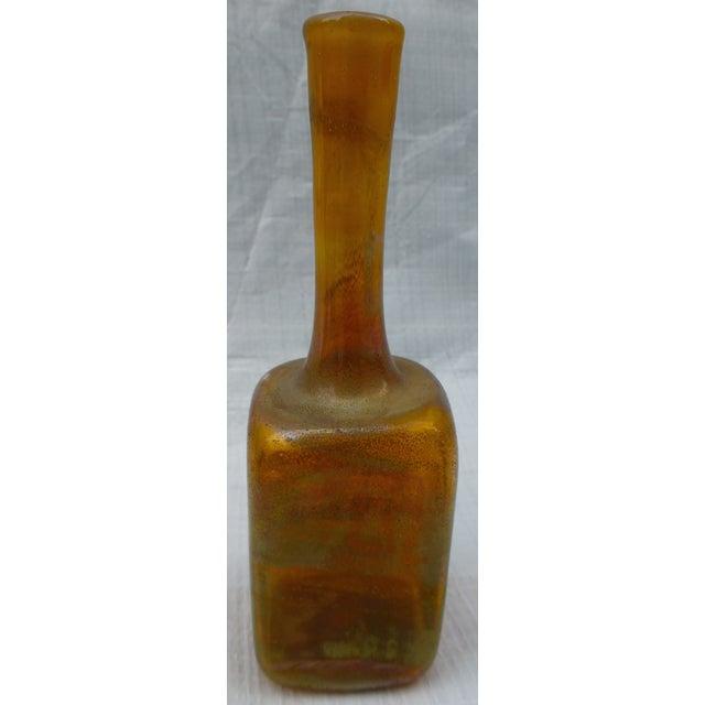 Vintage Studio Glass Bud Vase - Image 3 of 7