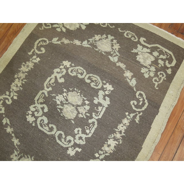 Vintage Turkish Rug - 3'4'' X 4'6'' - Image 3 of 8