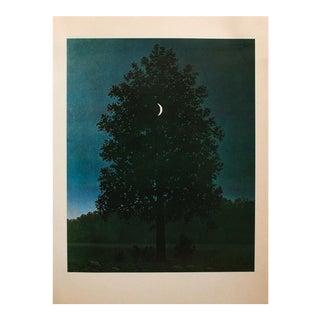 """1972 Rene Magritte, """"September 16"""" Original Photogravure For Sale"""