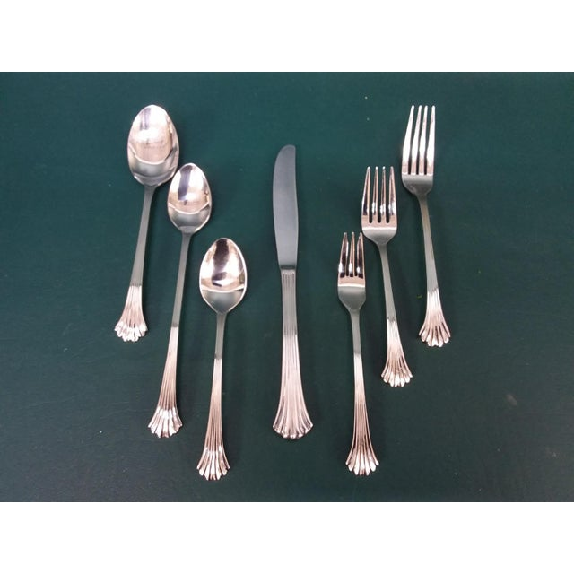 Vintage Wallace 'Tiara' Flatware, Service for 12 For Sale - Image 13 of 13
