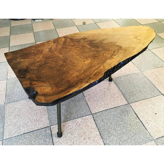 1950s Big Tree Table by Carl Aubock, 1950s For Sale - Image 5 of 11