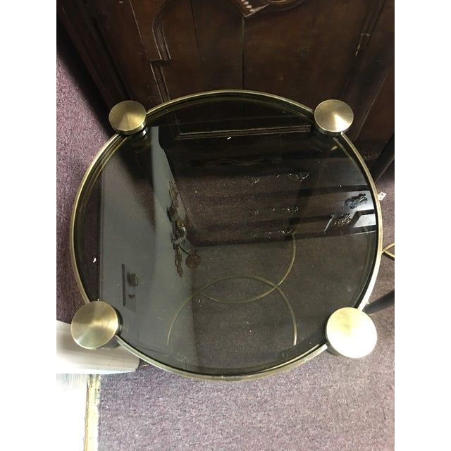 Art Deco New Uttermost Co. 'Thora' Accent Table For Sale In Denver - Image 6 of 6