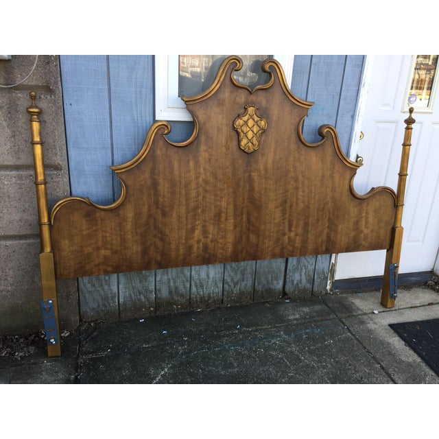 Vintage French Style King Size Headboard - Image 3 of 5