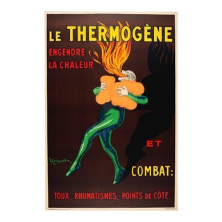 """Vintage French Poster Cappiello """"Le Thermogene"""", Unframed"""