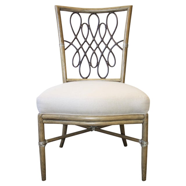 McGuire Barbara Barry Script Side Chair - Image 1 of 7