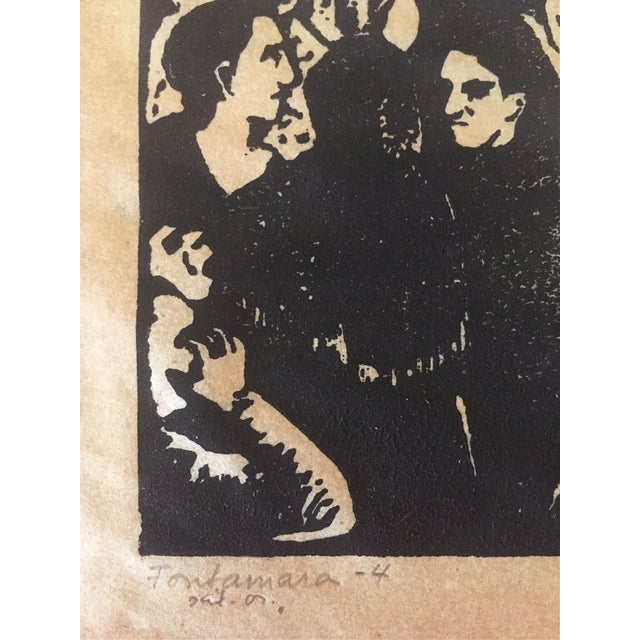Fay Ostrower Woodblock Print - Image 5 of 6