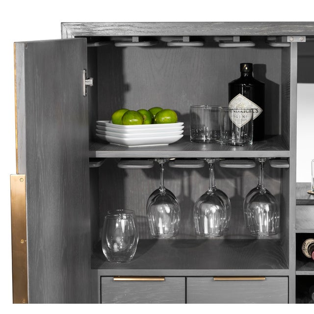 Interlude Home Interlude Home Fabienne Bar Cabinet For Sale - Image 4 of 6