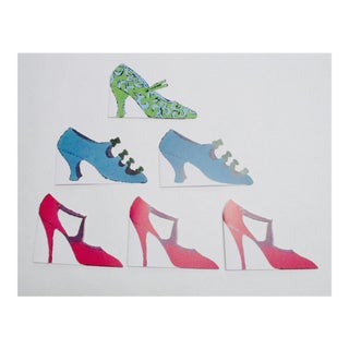 Andy Warhol Shoes Cards Prints - Set of 6