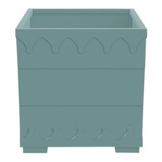 Ocean Drive Outdoor Planter Small, Green For Sale
