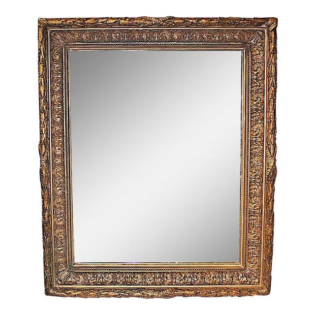 Antique Gilt Gesso Mirror - Image 1 of 7