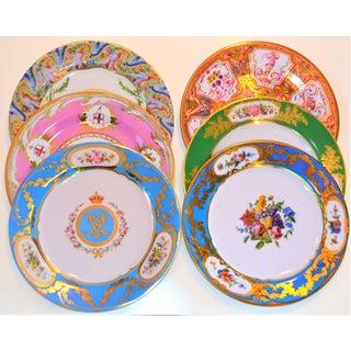 Enamaled Tin English Plates - Set of 6 Preview