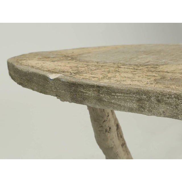1900 - 1909 Faux Bois Table Attributed to Edouard Redont, Circa 1900 For Sale - Image 5 of 10