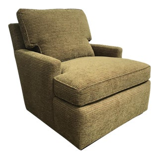 RJones Tarrytown Lounge Chair With Nail Trim Detail For Sale