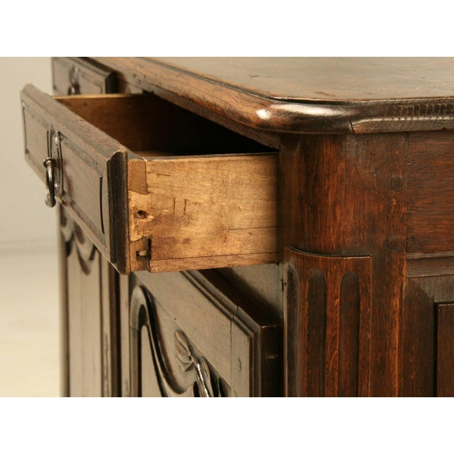 Antique French Buffet With Star Motif For Sale - Image 4 of 10