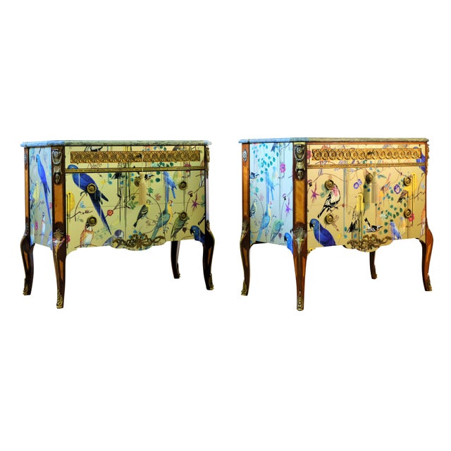Christian Lacroix Style Commodes - a Pair For Sale - Image 9 of 9