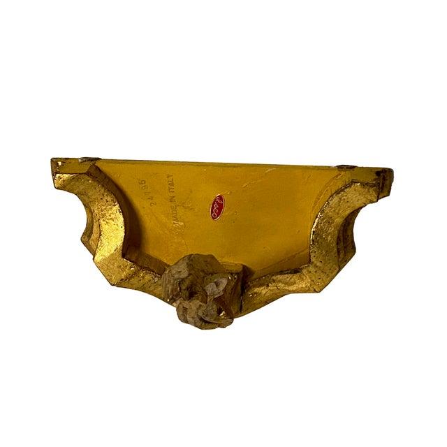 Italian Hand Carved Gilt Wall Shelf For Sale - Image 4 of 5