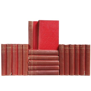 Distressed Tales: Sir Walter Scott - Set of 18 For Sale