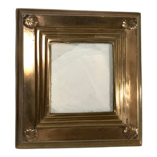 Vintage Brass Picture Frame For Sale