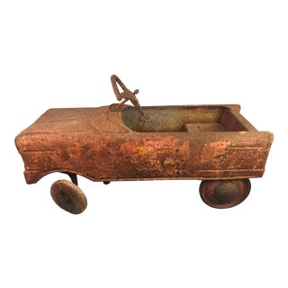 Antique Rusted Childs Car Toy For Sale