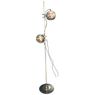 Italian Mid-Century Alta Lite Adjustable Floor Lamp, 1970s For Sale