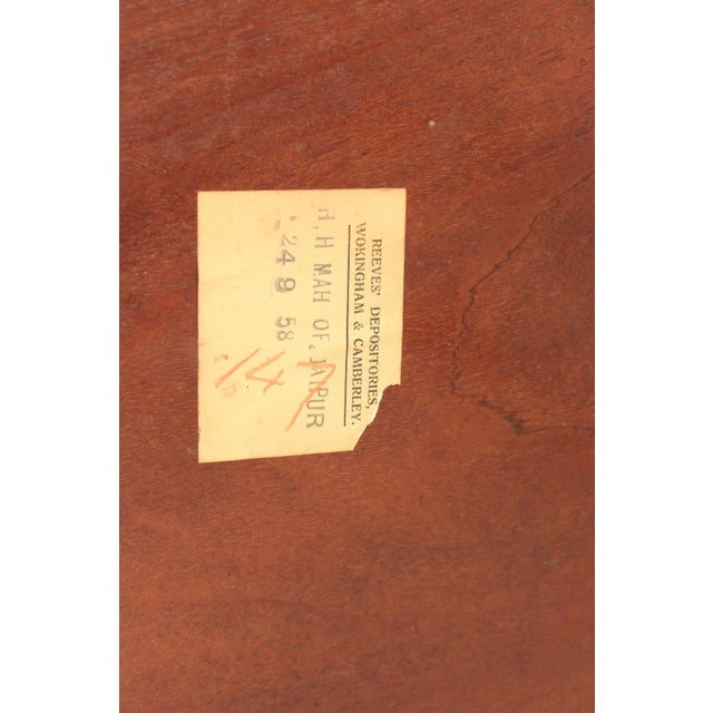 Chinese Chippendale Style Mahogany Tea Table For Sale - Image 12 of 13