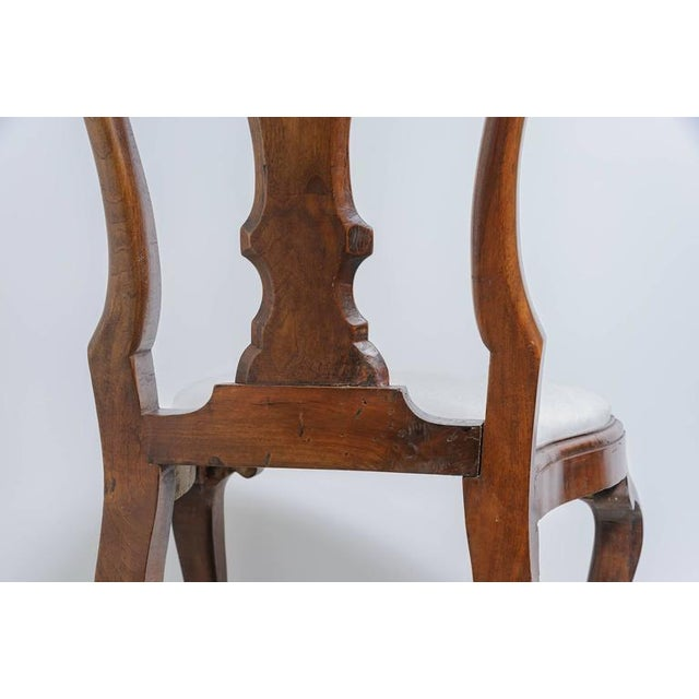Set of Four 19th Century Queen Anne Revival Side Chairs with Slip Seats - Image 3 of 9