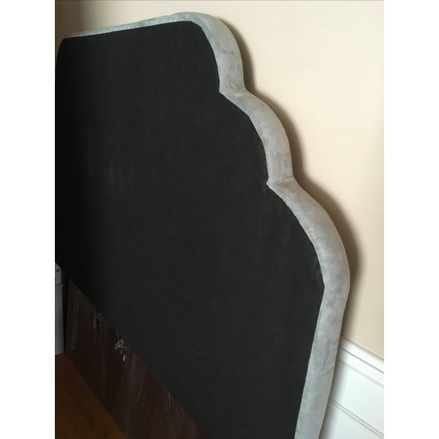Seafoam Tufted Arch Queen Headboard - Image 4 of 4