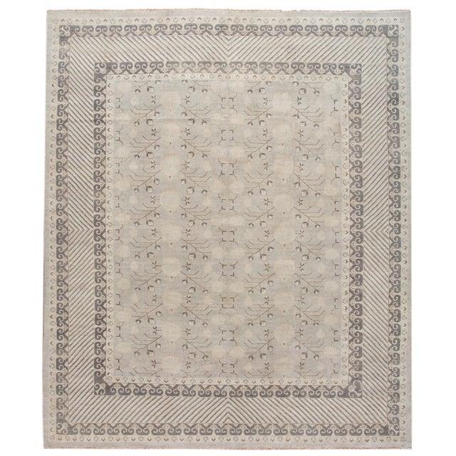 21st Century Modern Kohtan Wool Rug For Sale - Image 13 of 13