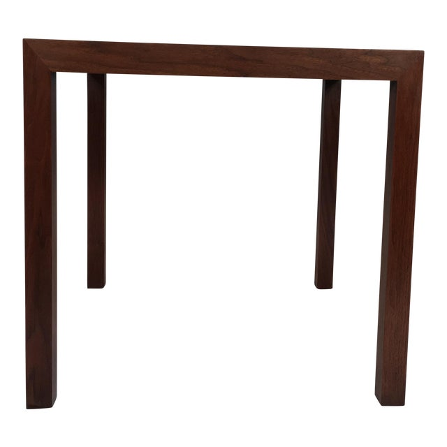 Edward Wormley Walnut Side Table - Image 1 of 11