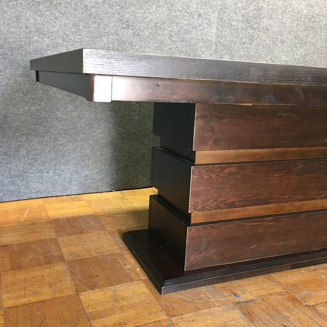 Tanager Expandable Dining Table in Espresso - Image 7 of 8
